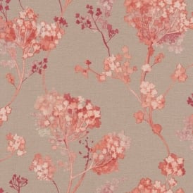 Rasch Florentine Floral Motif Flower Pattern Traditional Textured Wallpaper 449273
