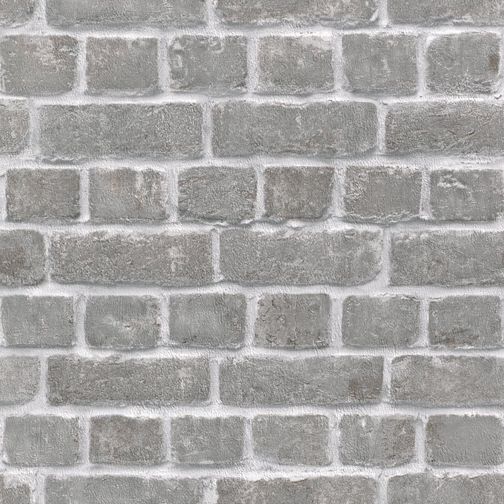 rasch house brick pattern wallpaper faux effect realistic stone textured 213607 grey i want. Black Bedroom Furniture Sets. Home Design Ideas