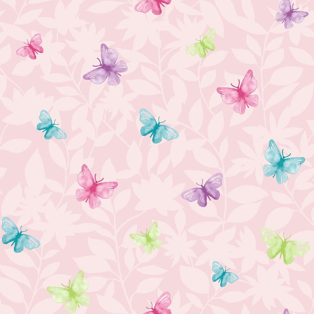 Pink Glitter Butterfly Wallpaper | www.pixshark.com ...