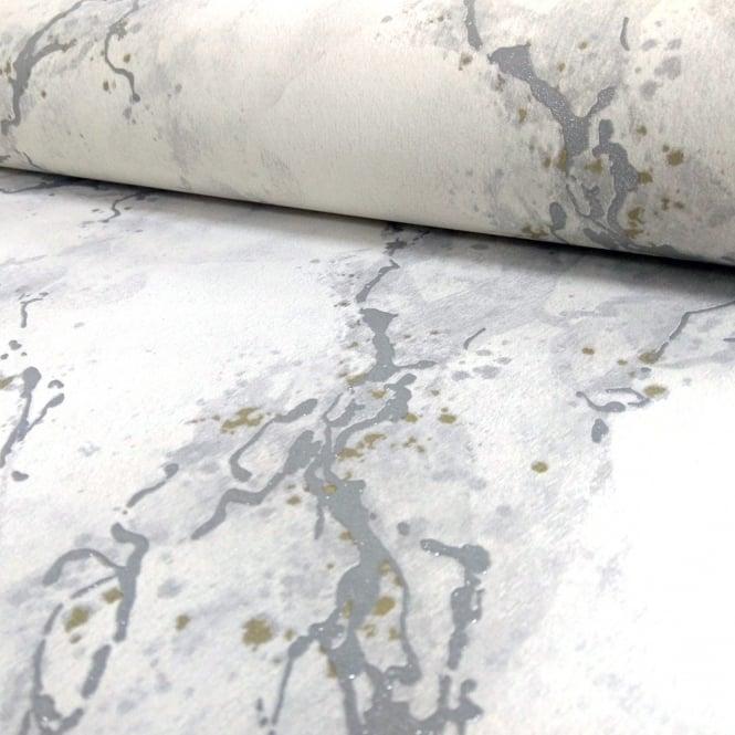 Love Lace White Metallic Effect Wallpaper : Rasch Marble Pattern Wallpaper Faux Effect Modern Metallic Glitter Motif 317800 - White I Want ...