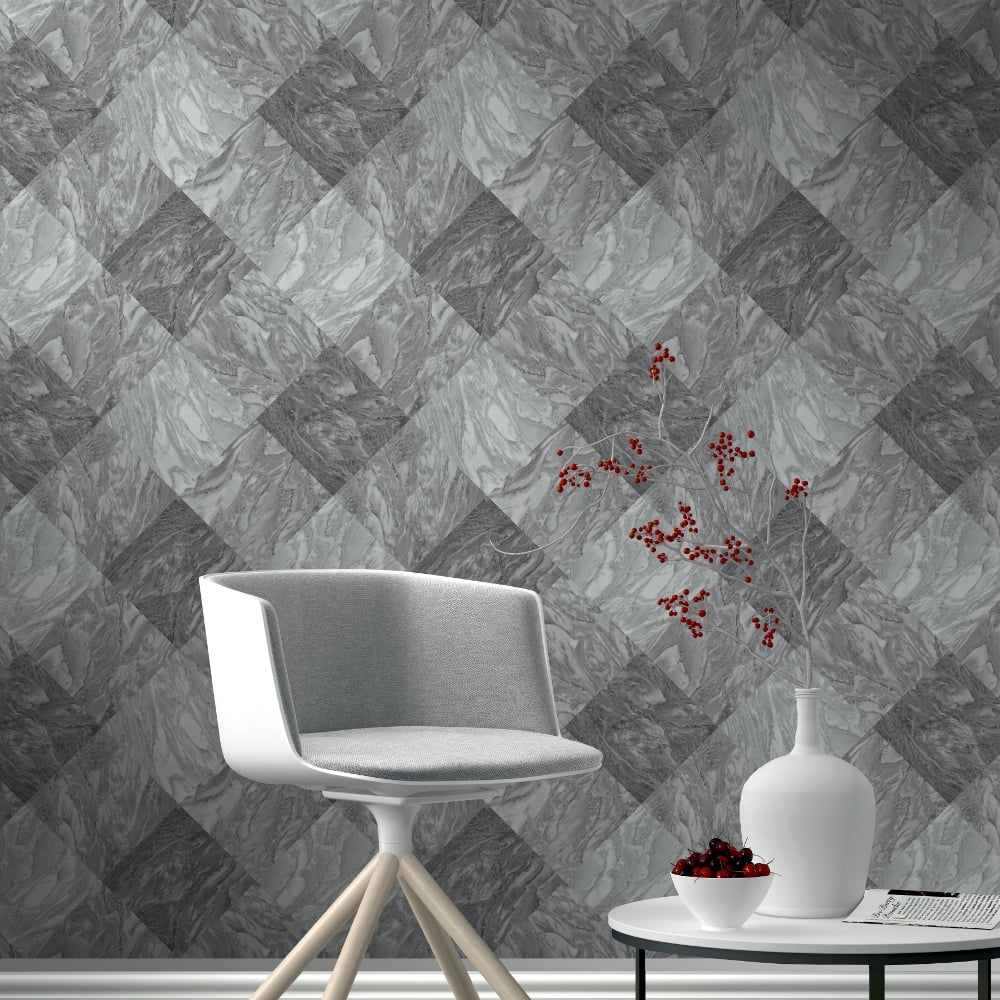 Must see Wallpaper Marble Unicorn - rasch-marble-tile-pattern-wallpaper-realistic-faux-effect-metallic-embossed-282504-p4282-11041_image  Photograph_943261.jpg