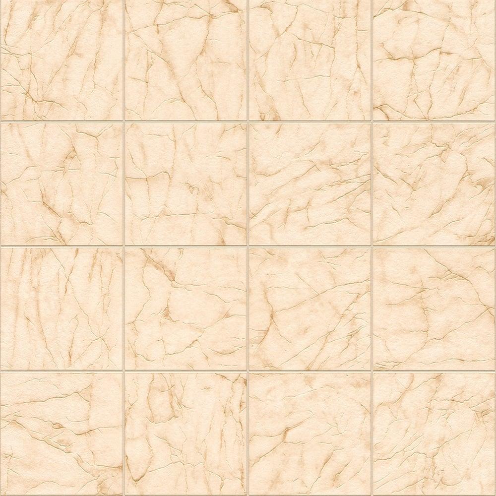Rasch Marble Tile Pattern Wallpaper Realistic Kitchen Bathroom 899436