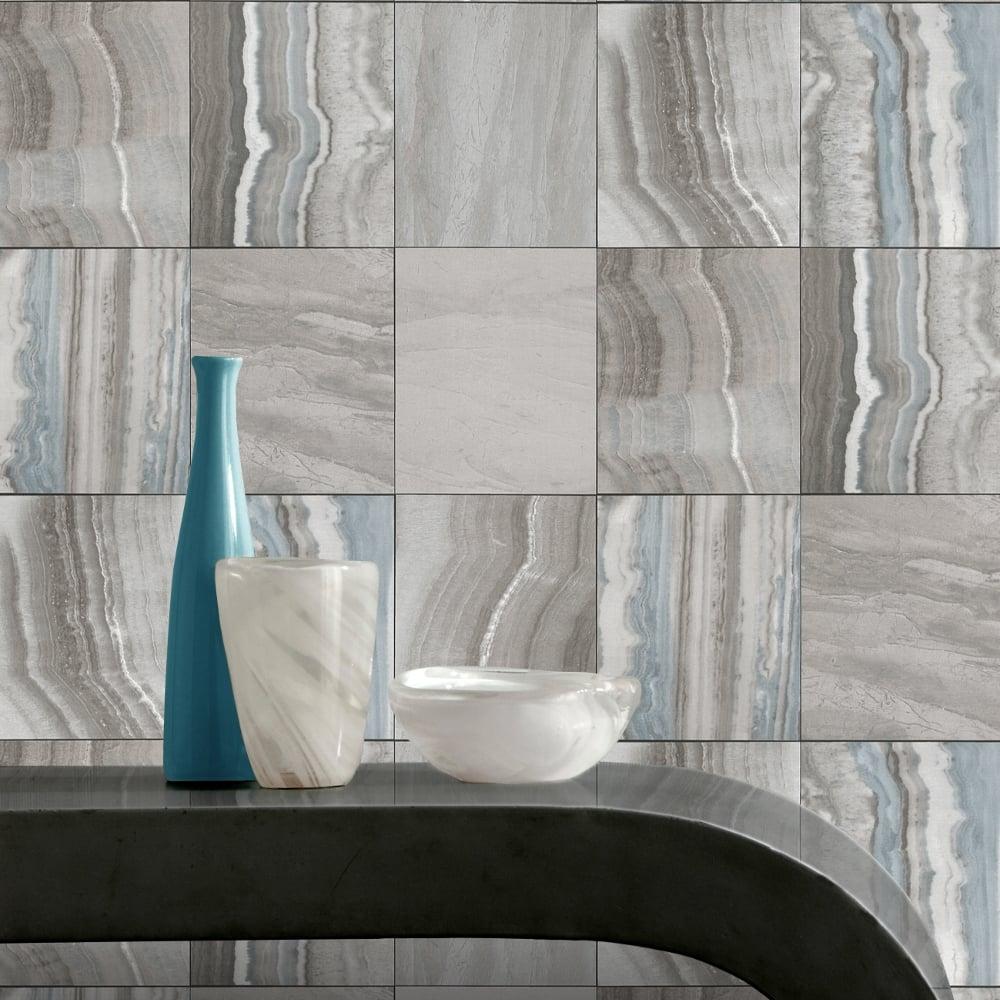 Stone Effect Kitchen Wallpaper: Rasch Marble Tile Pattern Wallpaper Stone Faux Effect