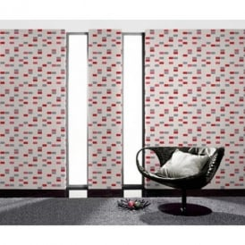 Rasch Mosaic Pattern Tile Effect Vinyl Kitchen Bathroom Wallpaper 817102