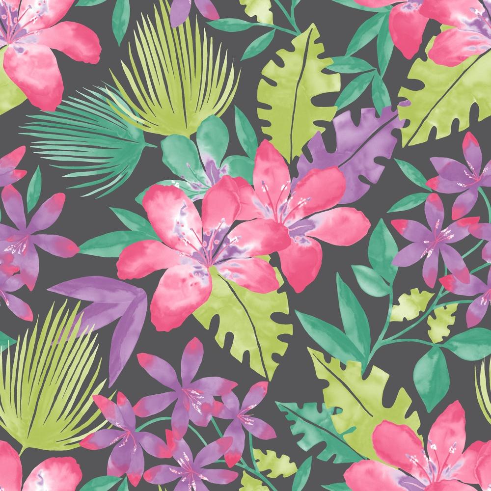 Rasch Rasch Paradise Flowers Pattern Tropical Floral Leaf Motif Wallpaper 209129