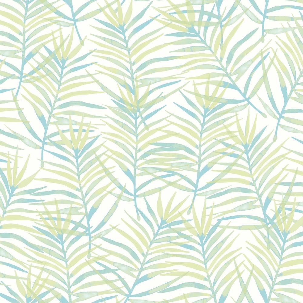 Rasch Paradise Palm Leaf Pattern Tropical Floral Motif
