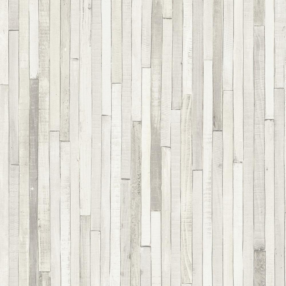Rasch Portfolio Wooden Panel Striped Beach Cabin Wood Motif Beige Wallpaper  280401 - Rasch Portfolio Wooden Panel Striped Cabin Wood Vinyl Wallpaper 280401