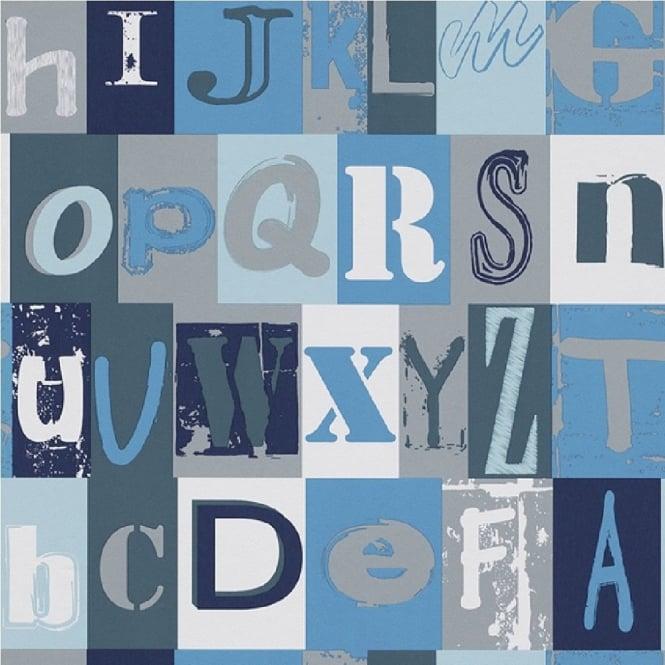 Rasch Alphabet Childrens Wallpaper 231113