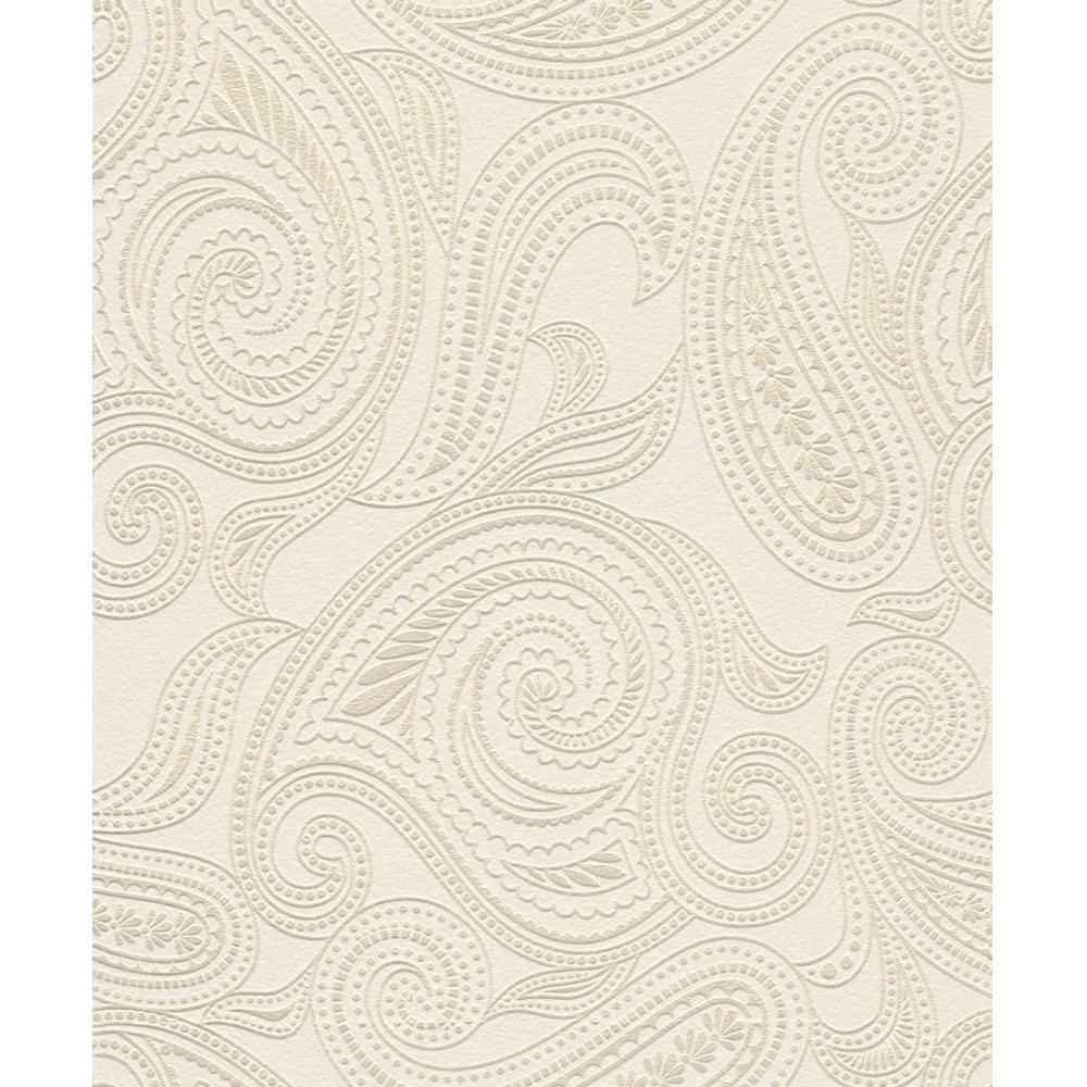 rasch barbara becker paisley motif patterned textured