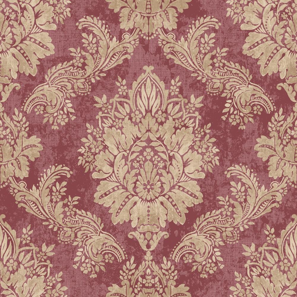 rasch bloomsbury damask pattern floral motif metallic. Black Bedroom Furniture Sets. Home Design Ideas