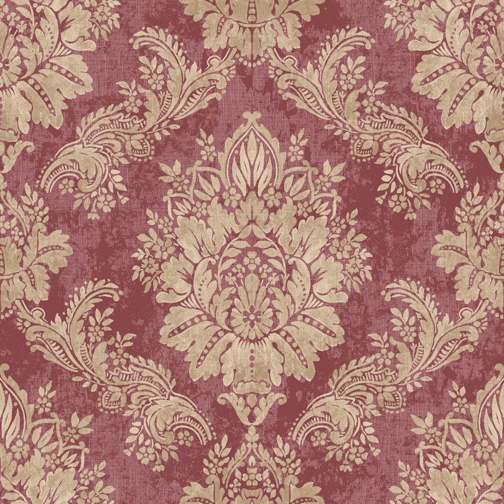 rasch bloomsbury damask pattern floral motif metallic wallpaper 204841. Black Bedroom Furniture Sets. Home Design Ideas