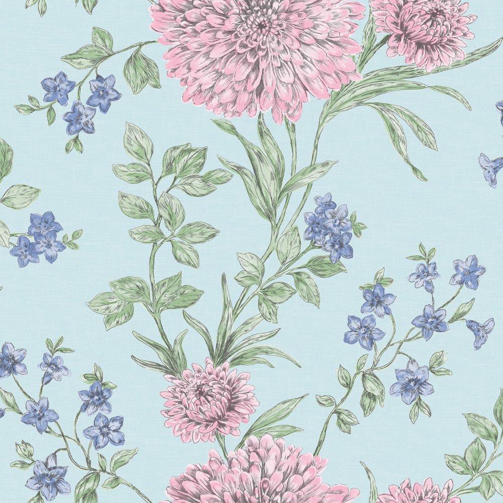 rasch bordeaux flower pattern floral motif metallic. Black Bedroom Furniture Sets. Home Design Ideas