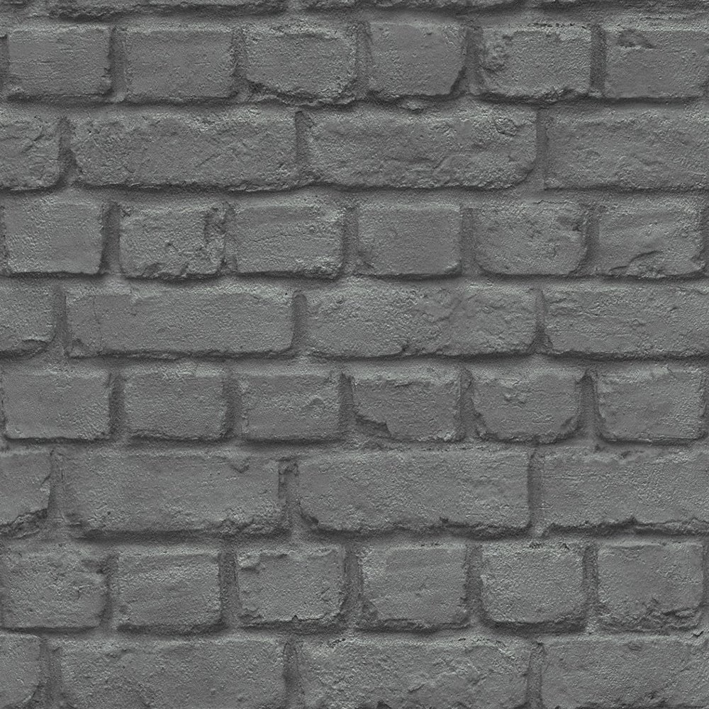 Rasch brick stone wall realistic faux effect textured for 3d effect wallpaper uk