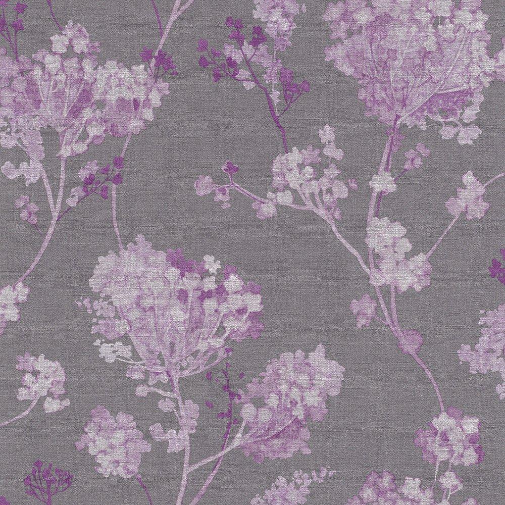 rasch florentine floral motif flower pattern textured. Black Bedroom Furniture Sets. Home Design Ideas