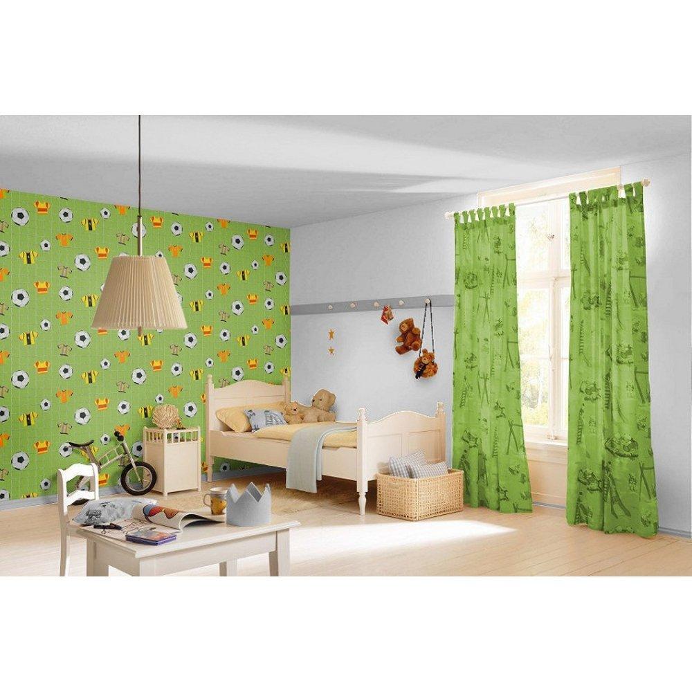 goal nets sport childrens kids bedroom embossed wallpaper 471700