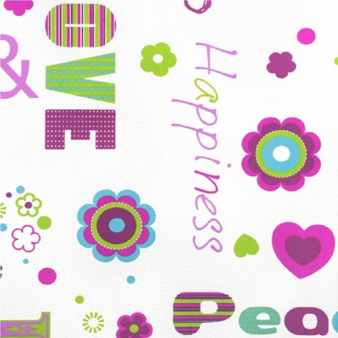 Rasch Love & Peace Wallpaper 478419