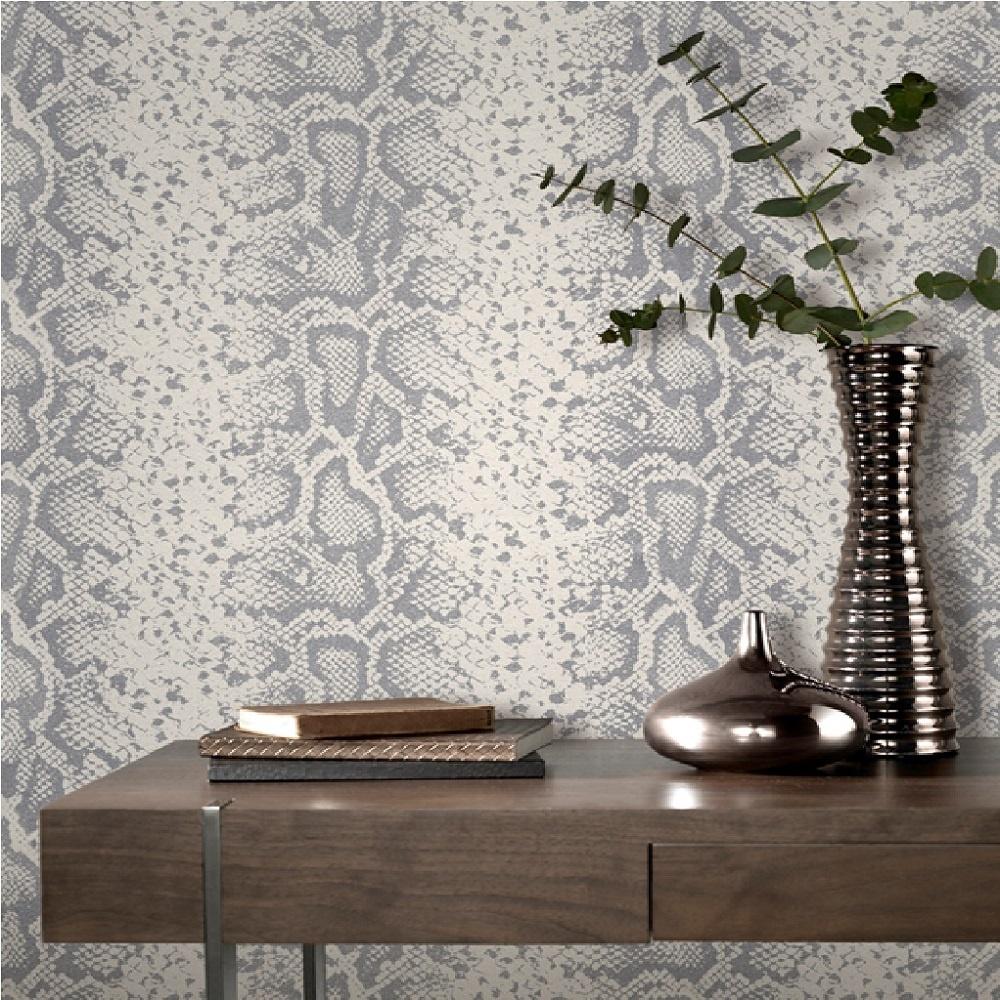 Leopard Print Wallpaper For Bedroom Rasch Mandalay Snake Animal Print Snakeskin Glitter Wallpaper 281026