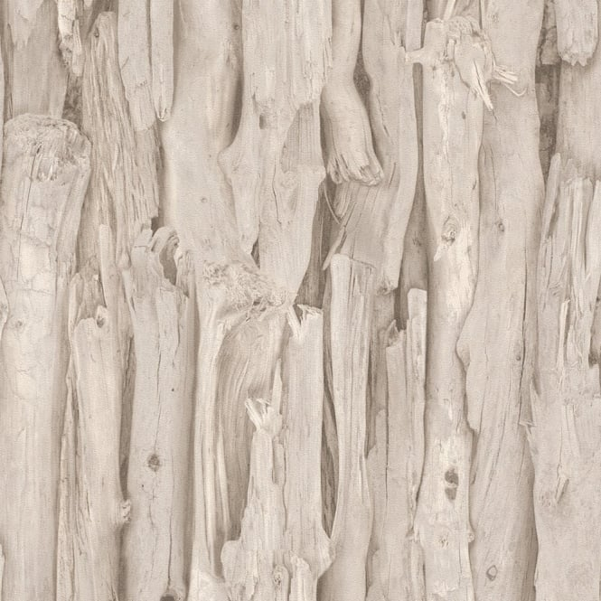 Rasch Tree Bark Pattern Realistic Faux Effect Photographic Mural Wallpaper 473209
