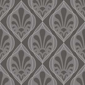 Rasch Ritz Damask Wallpaper 240108