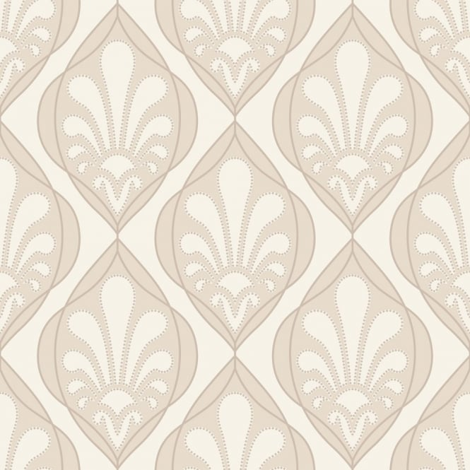 Rasch Ritz Damask Wallpaper 240115