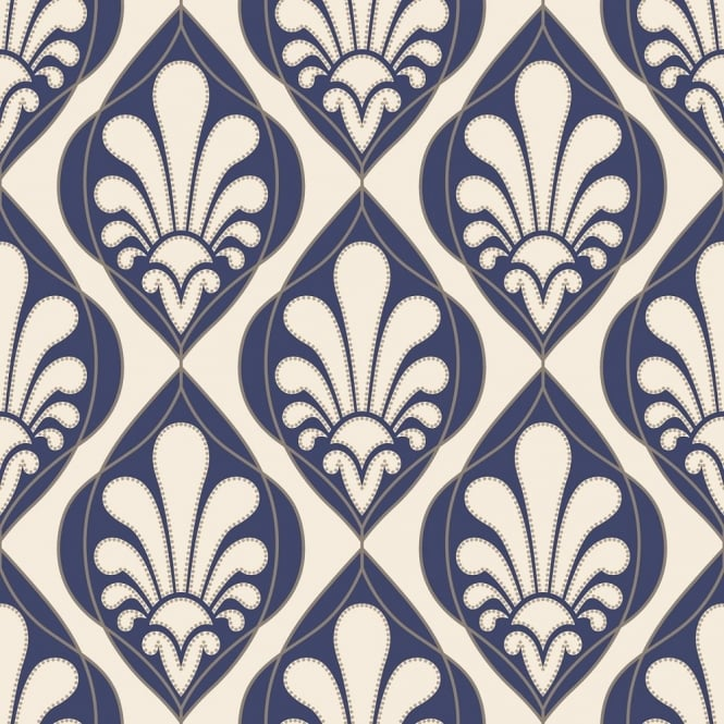 Rasch Ritz Damask Wallpaper 240139