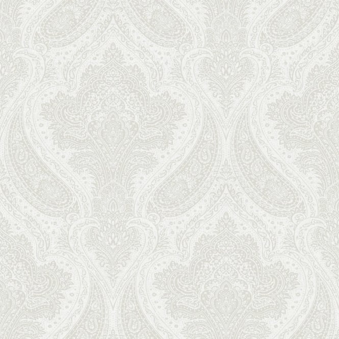 Rasch Roma Damask Pattern Traditional Classic Metallic Leaf Wallpaper 208603
