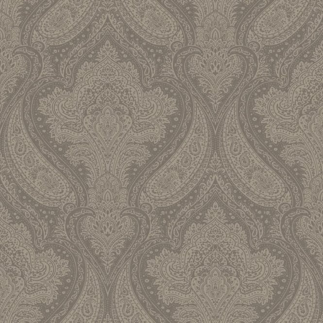 Rasch Roma Damask Pattern Traditional Classic Metallic Leaf Wallpaper 208610
