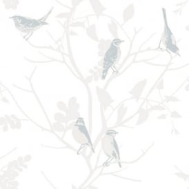 Rasch Songbird Motif Wallpaper 250619