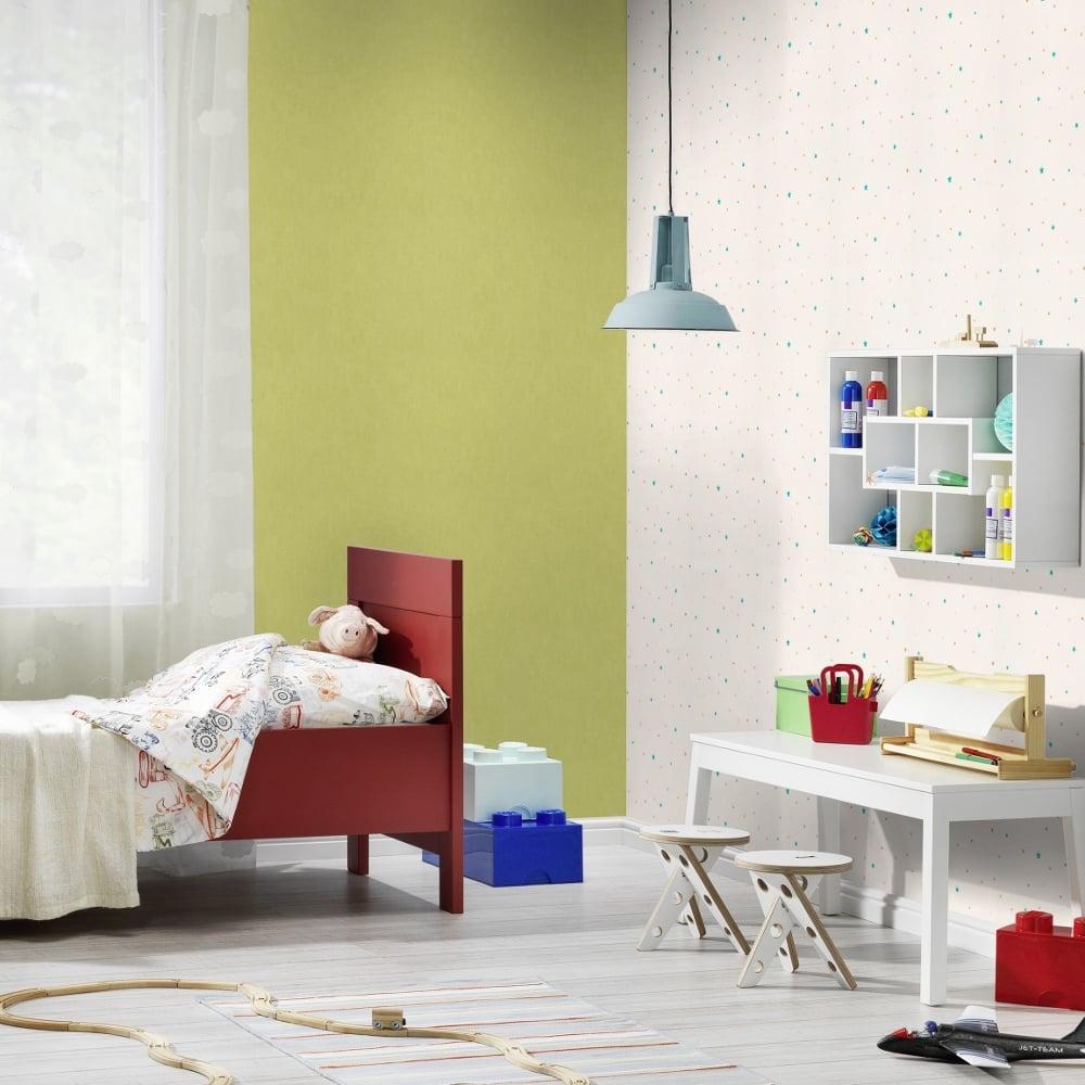 Rasch Star Pattern Childrens Bedroom Wallpaper Nursery Washable 245219