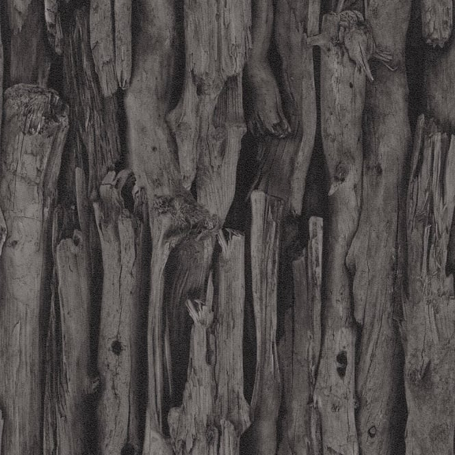 Rasch Tree Bark Pattern Realistic Faux Effect Photographic Mural Wallpaper 473230