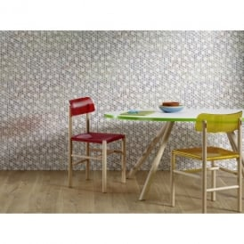 Rasch Trendspots Colourful Cotton String Pattern Designer Textured Wallpaper 896053