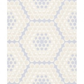 Rasch Trendspots Honeycomb Motif Circle Pattern Embossed 3d Effect Wallpaper 895643
