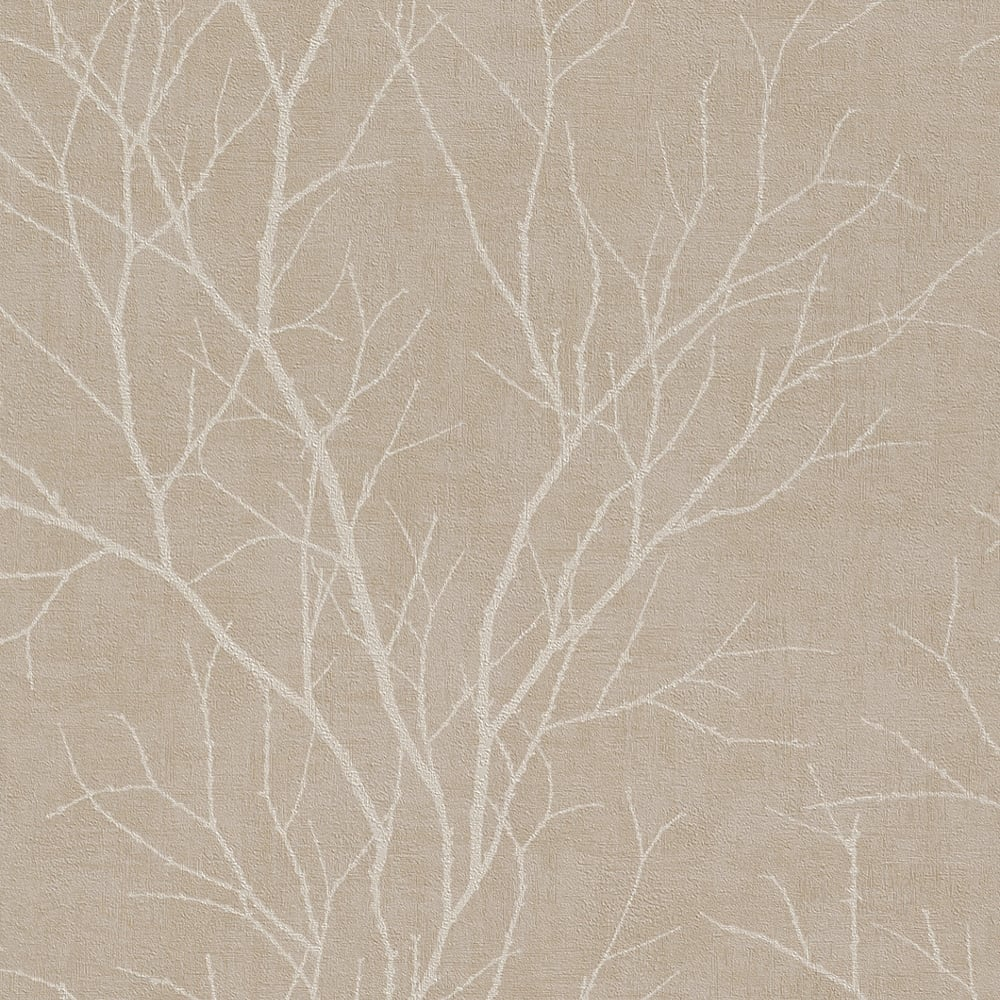 rasch twig tree branch pattern wallpaper modern non woven. Black Bedroom Furniture Sets. Home Design Ideas