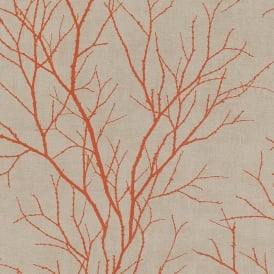 Rasch Twig Tree Branch Pattern Wallpaper Modern Non Woven Textured 455946