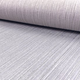 Sirpi Aria Plain Stripe Pattern Wallpaper Italian Metallic Textured Heavy Weight 20530