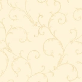 Sirpi Floral Leaf Pattern Wallpaper Metallic Glitter Heavy Weight 20591