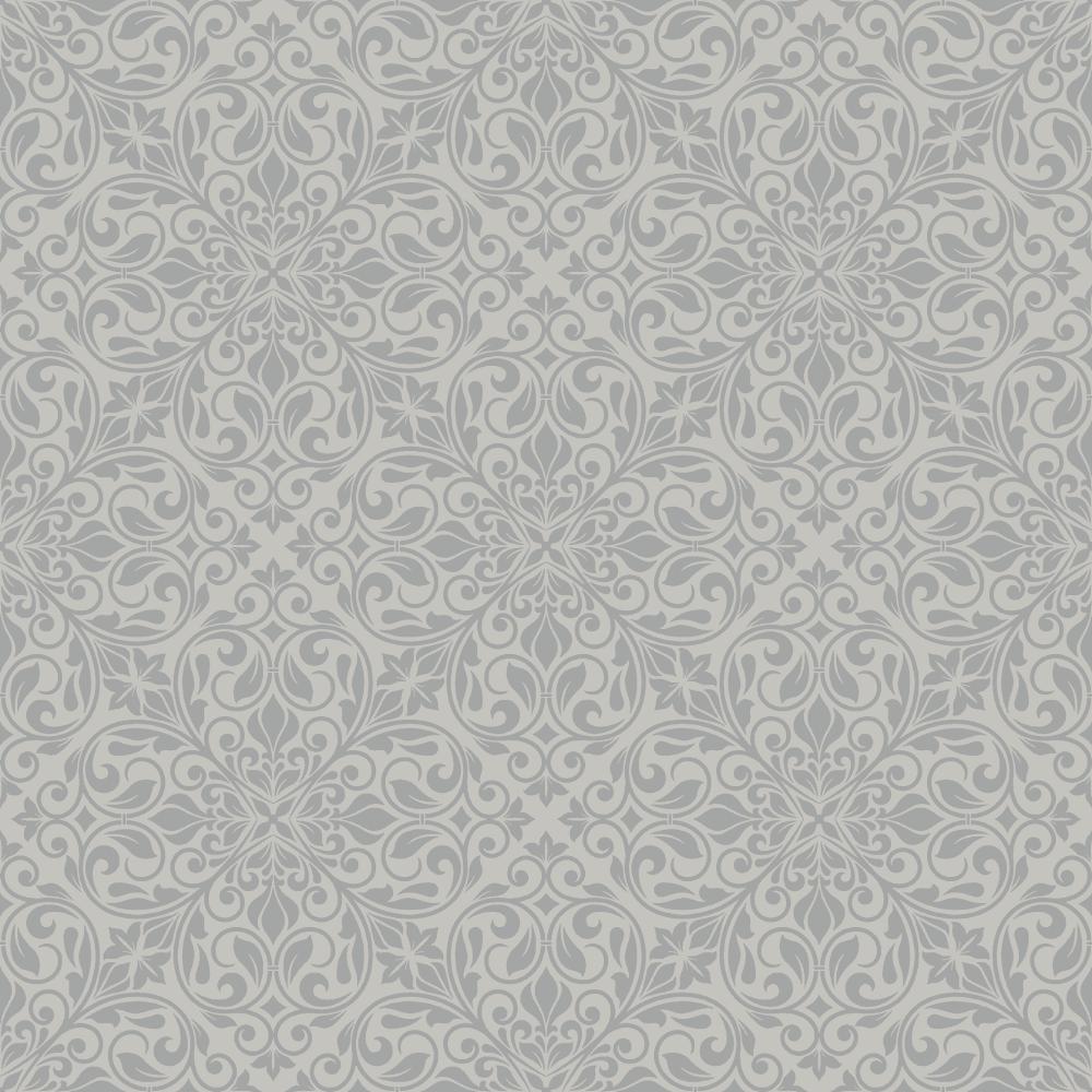 Sofia Glitter Flower Leaf Motif Embossed Textured Luxury Metallic Wallpaper 2456