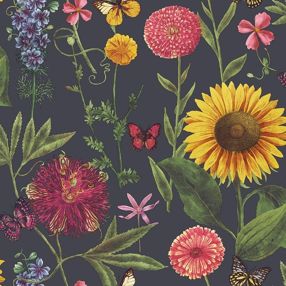 Arthouse Summer Garden Multi Colour Flower Sunflower