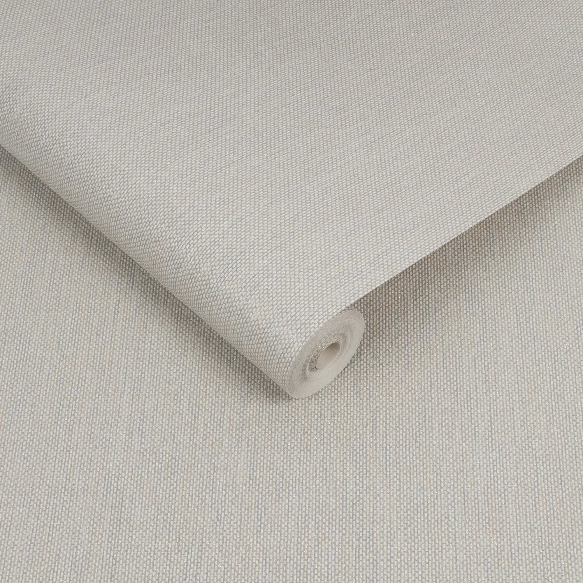 Superfresco Aaron Sparkle Taupe Textured Vinyl Glitter Faux Non Woven Fabric Wallpaper 112014